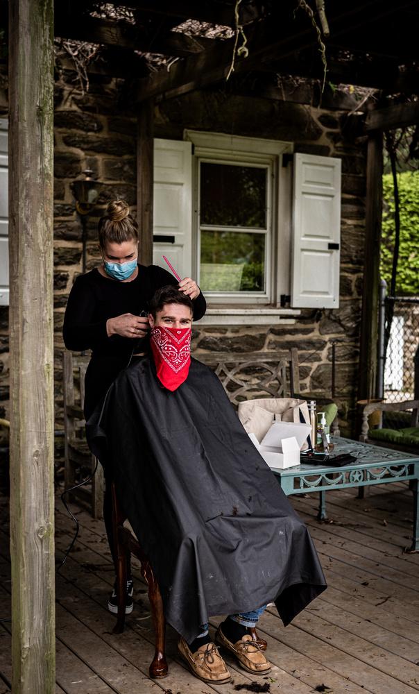 Haircut: April 2020 by James Allen