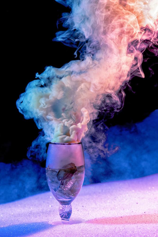 Smoking Glass by Alex Reiff