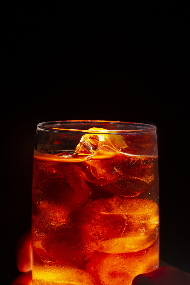 Orange Ice by John Xenos