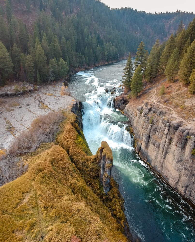 Idaho Waterfall by Aaron Aaron