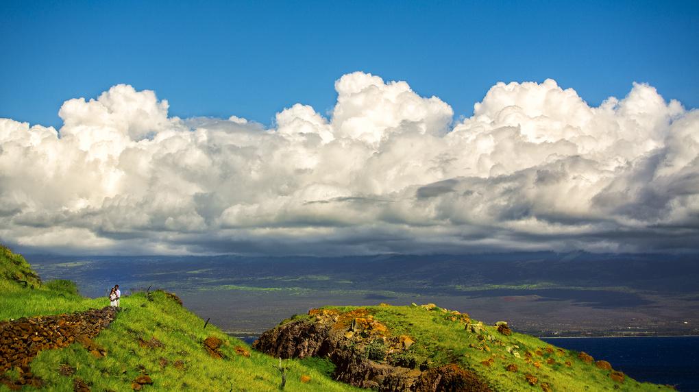 Maui Hilltop by Rick Denham