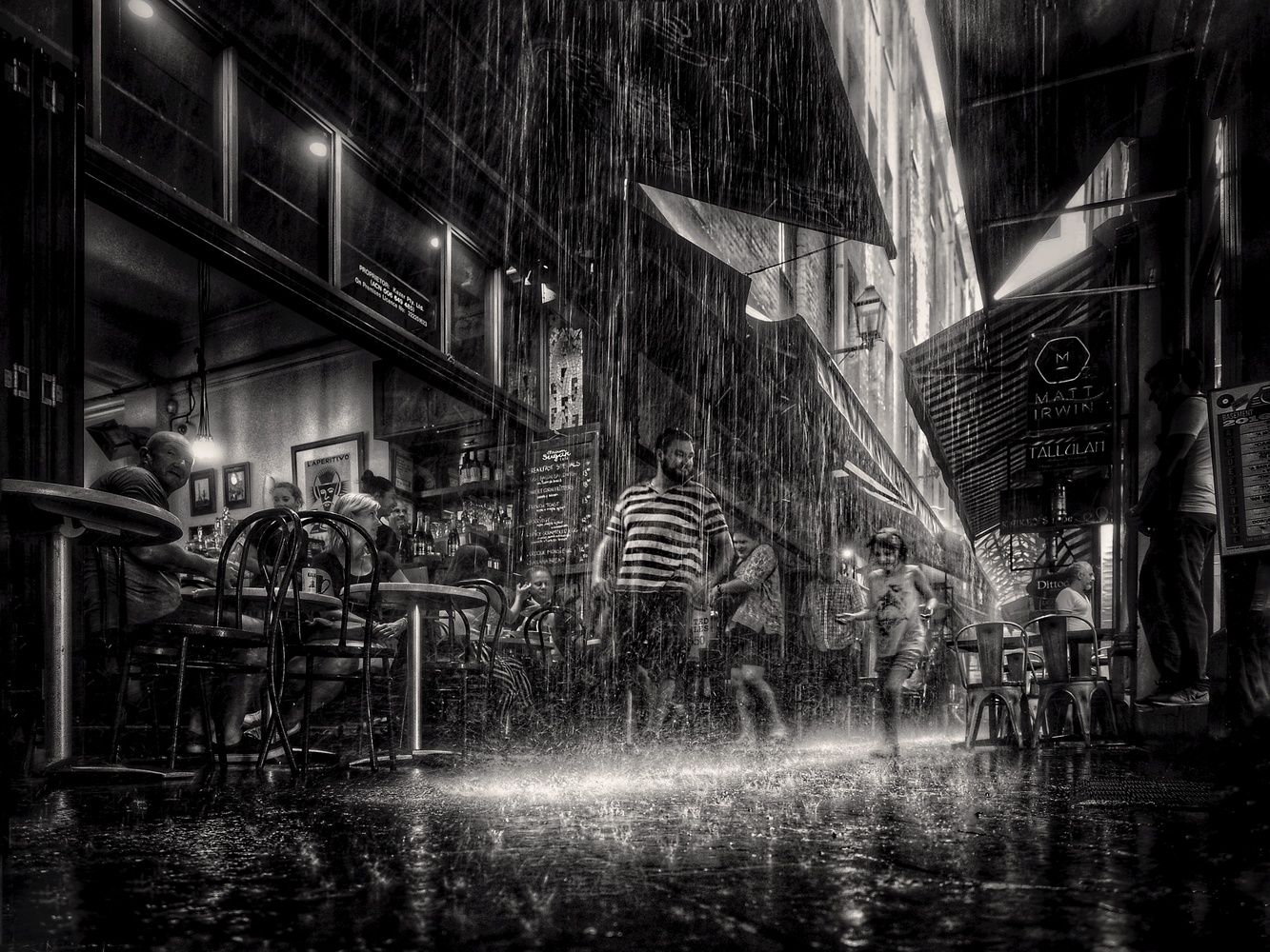 Dancing in the Rain by David Hein
