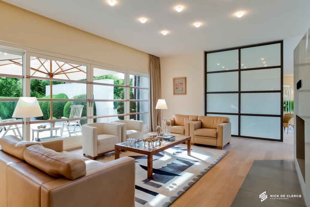 Living room by Nick De Clercq