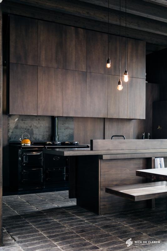 Wabi-Sabi Kitchen by Nick De Clercq