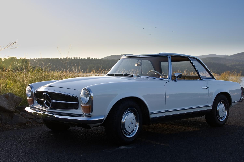 Mercedes 280SL by Kristopher Schmidt
