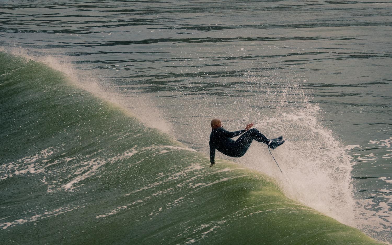 Pismo Surfer by Kristopher Schmidt
