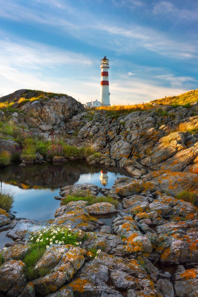 Oksøy lighthouse by Marcin Kowalski
