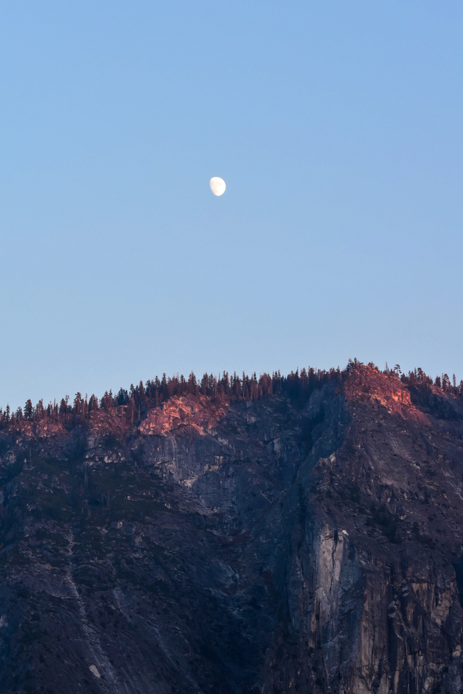 Yosemite Moon by Patrick Hodskins