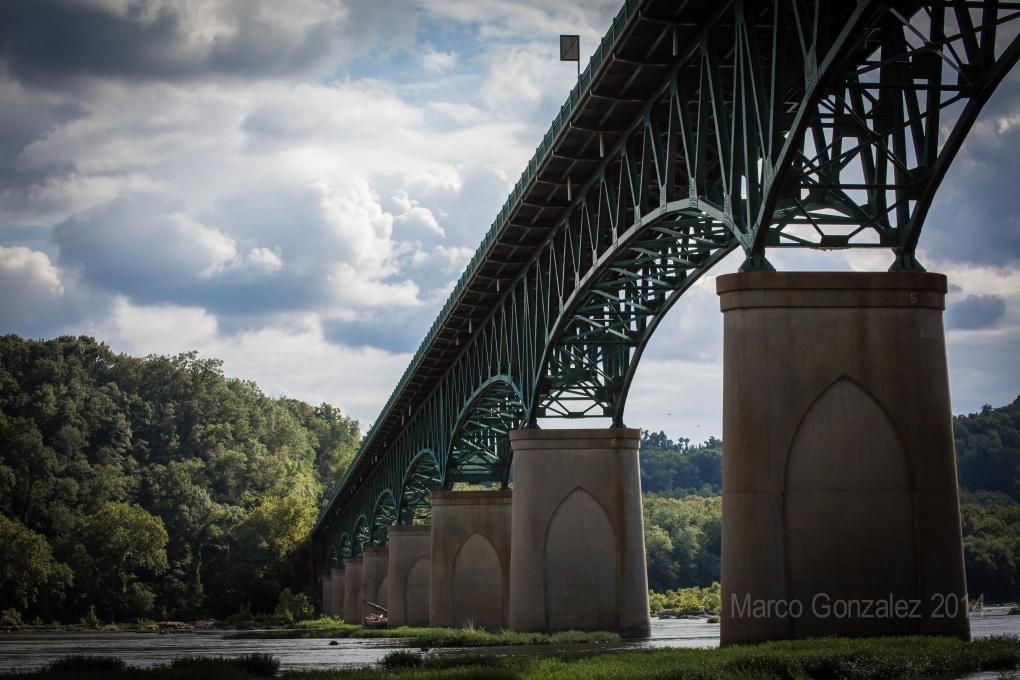 Harper's Ferry Bridge by Marco Gonzalez