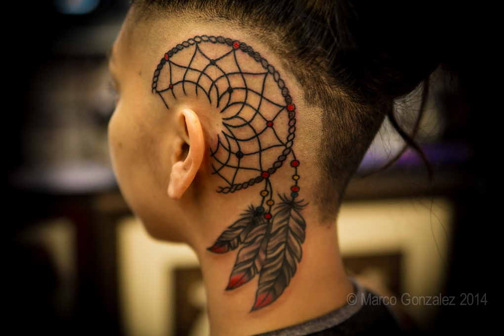Head Tattoo by Marco Gonzalez