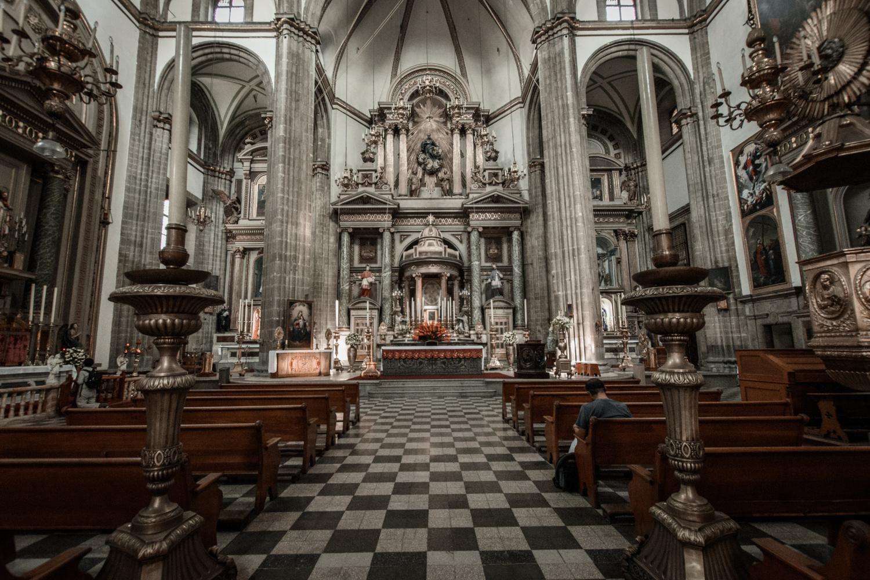 Mexico City Metropolitan Cathedral by Bartek Wojtkuński