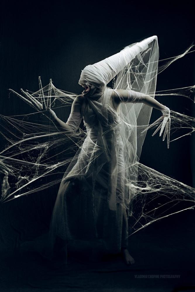 Spider queen by Vladimir Chopine