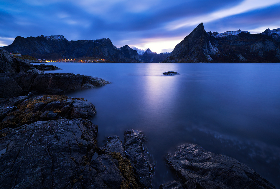 Olstind Twilight by Felix Inden