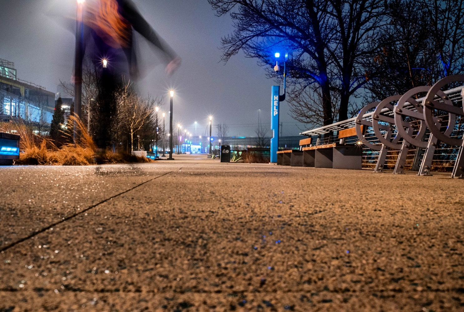 Night Boarder by Viewfinder Journey