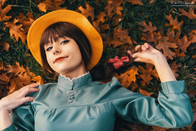 Sophie in Autumn by Fabio De Leonardis