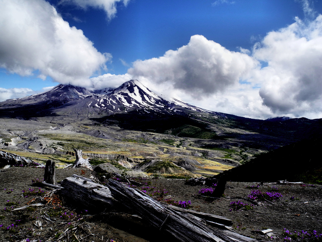 Mt. St. Helens by Amy Hunter