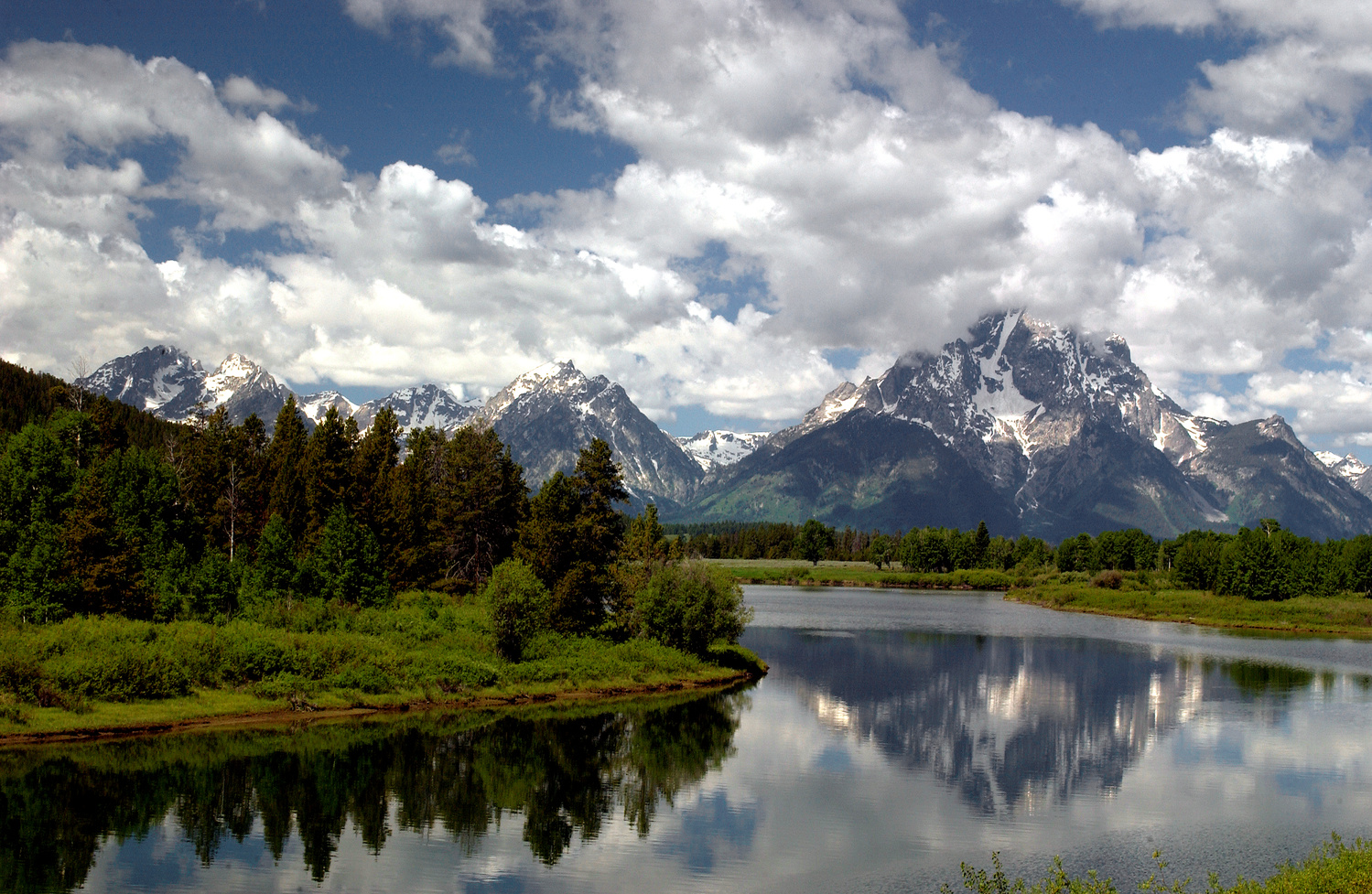 Oxbow Bend by Amy Hunter