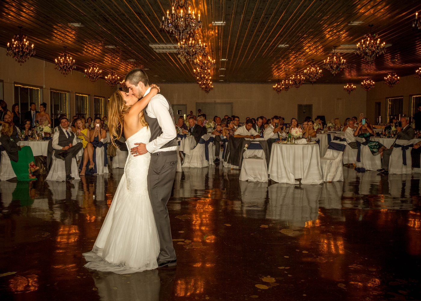 Kiss at the First Dance by Matthew Chambers