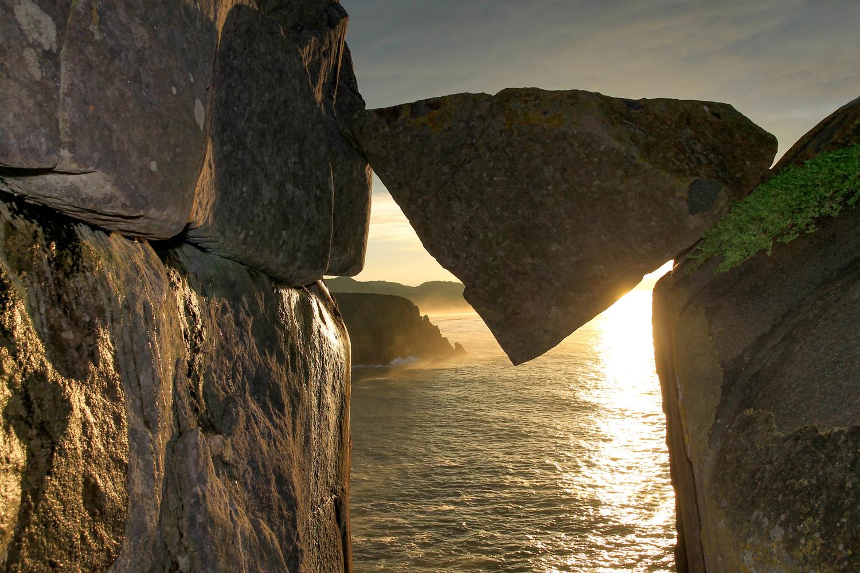 Wild Coast Sunrise by Gareth Yearsley