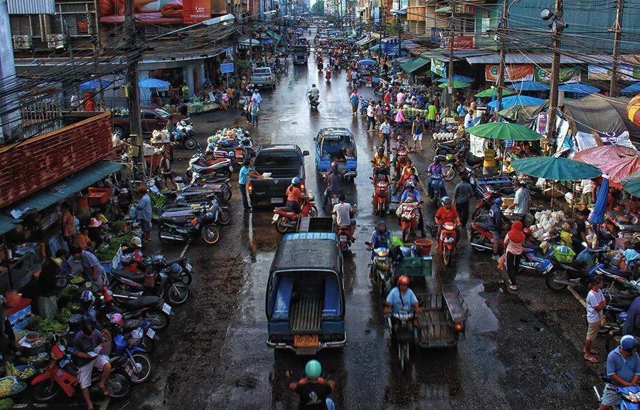 Traffic Hatyai by Ruzely Abdullah