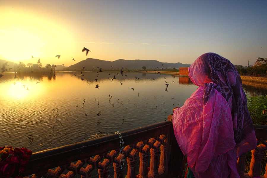 Waiting @ Lake by Ruzely Abdullah