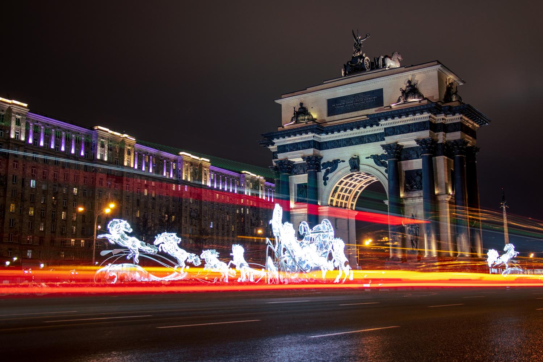 Triumphal Arc by Ivan Davydov