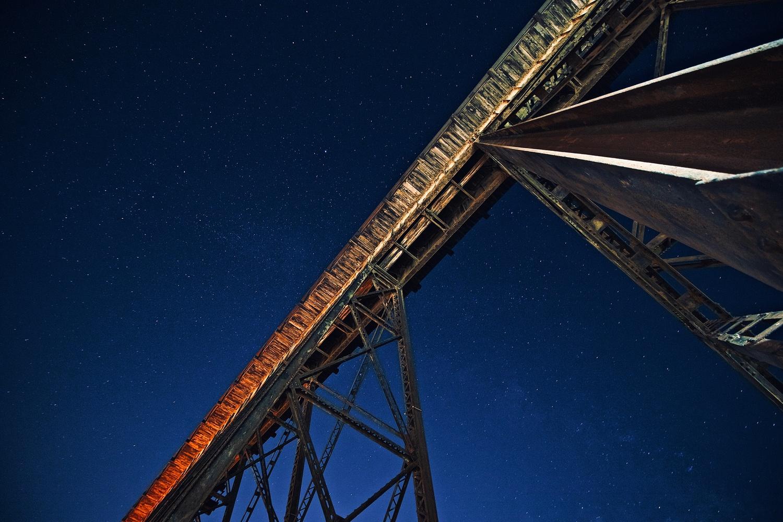 Trestle Skies by Garrett Camp