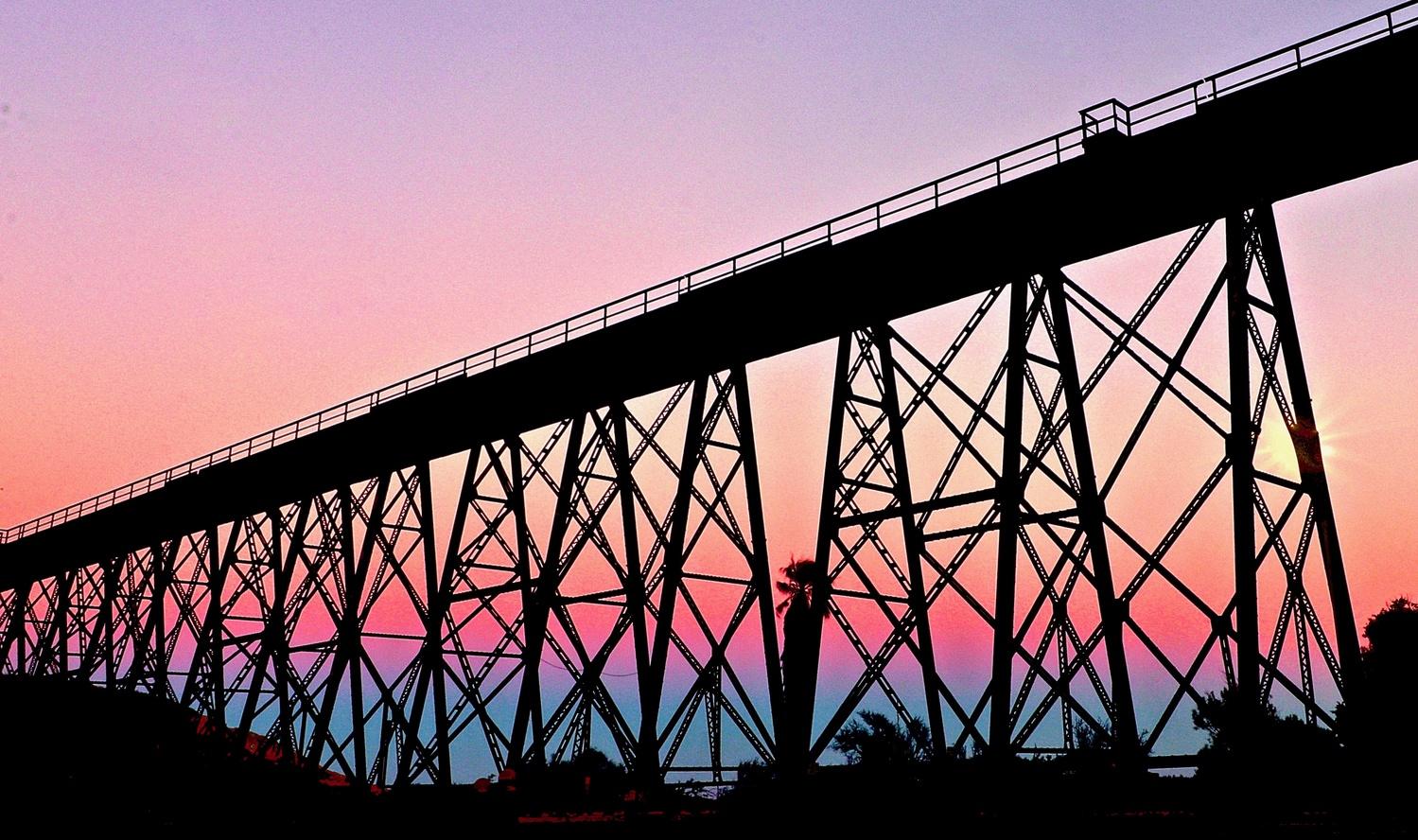 Trestle Sunset by Garrett Camp