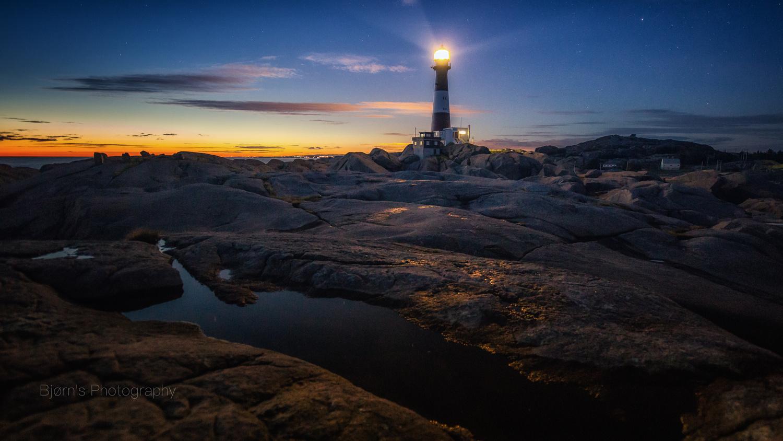 Eigerøy lighthouse by Bjørn - Audun Myhre