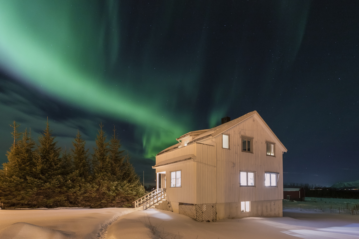 The Northern Light by Rickard Eriksson
