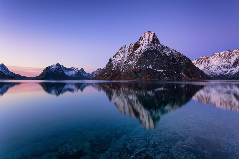 Olstinden by Rickard Eriksson