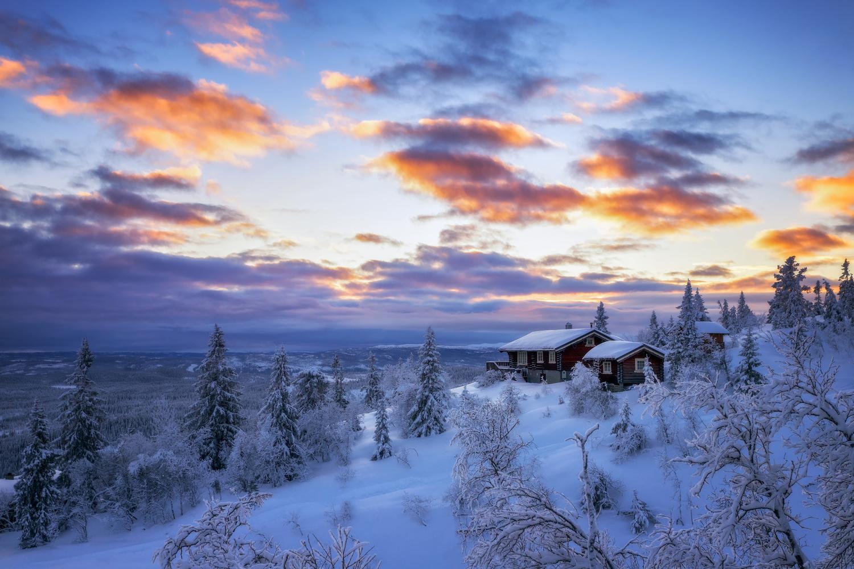 Norwegian Winter by Rickard Eriksson