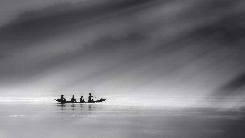 Misty River by Rickard Eriksson