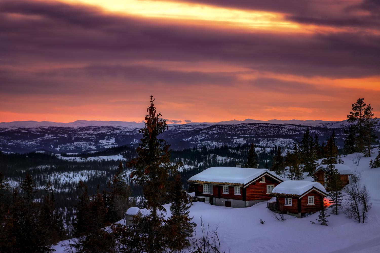 The Cabin by Rickard Eriksson