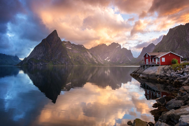 Litl-Toppøya by Rickard Eriksson