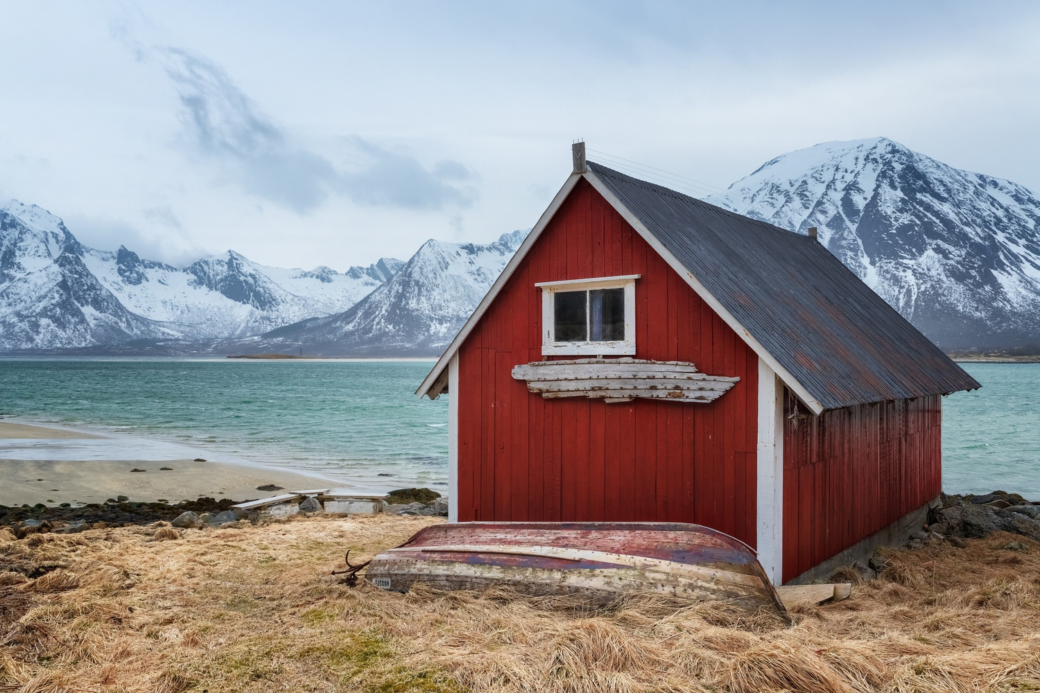 The Boat House by Rickard Eriksson