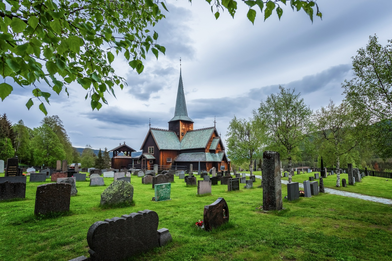 Hedalen Stave Church by Rickard Eriksson