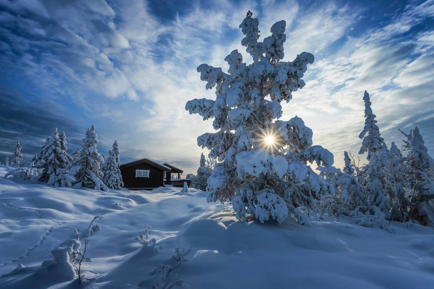 Winter is here by Rickard Eriksson