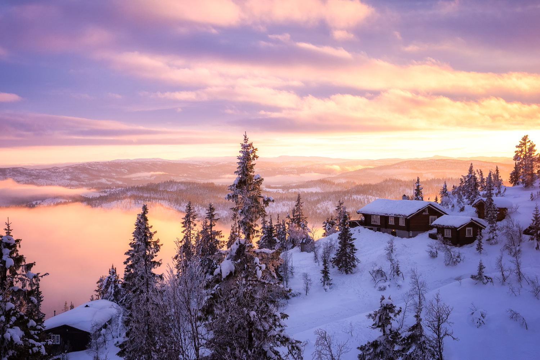 Winter Light by Rickard Eriksson