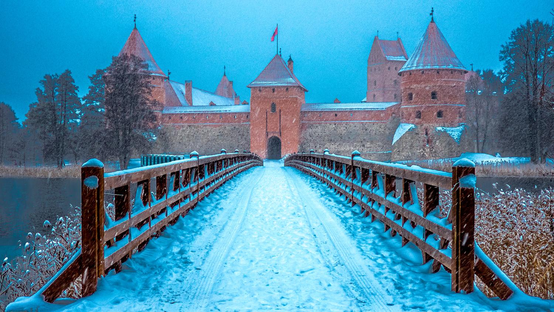 Trakai Castle, Lithuania by Yury Hushchyn