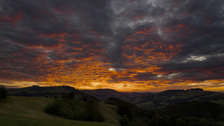 Sunset by Ondřej Pollak