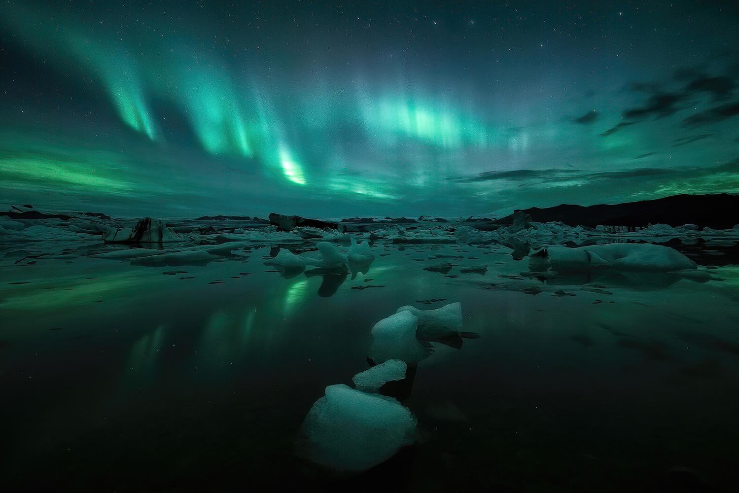 Magic at the lagoon by Tor-Ivar Næss