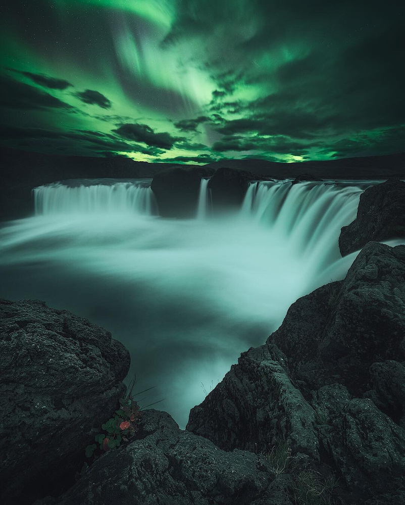 Waterfall of the Gods by Tor-Ivar Næss
