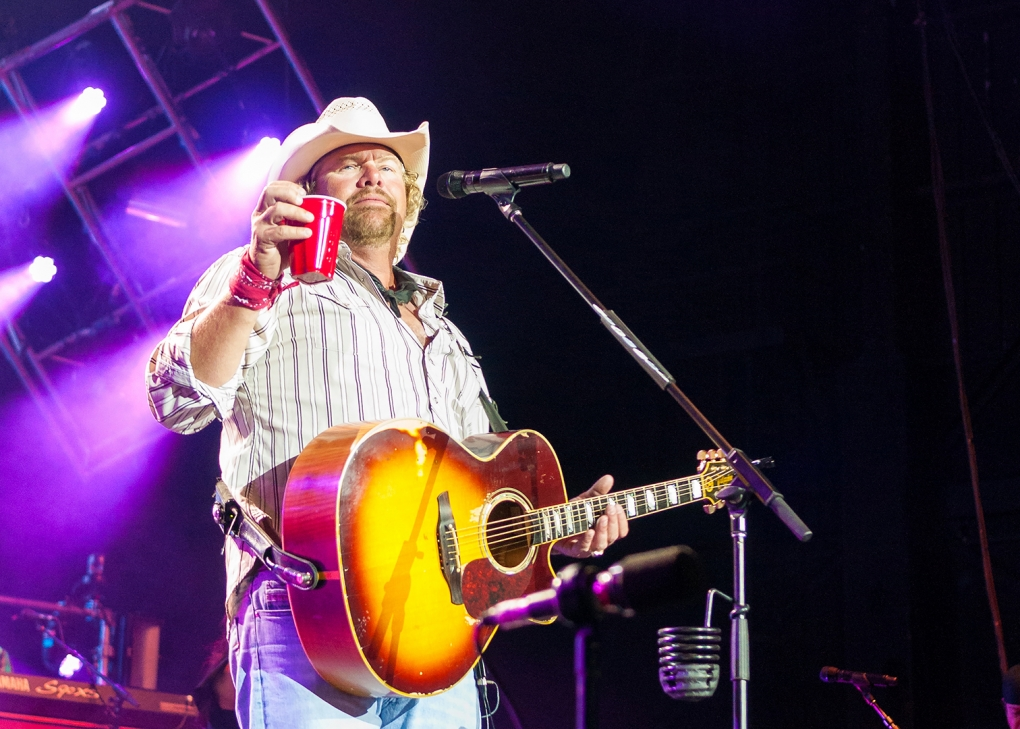 Toby Keith by Rich Frollini
