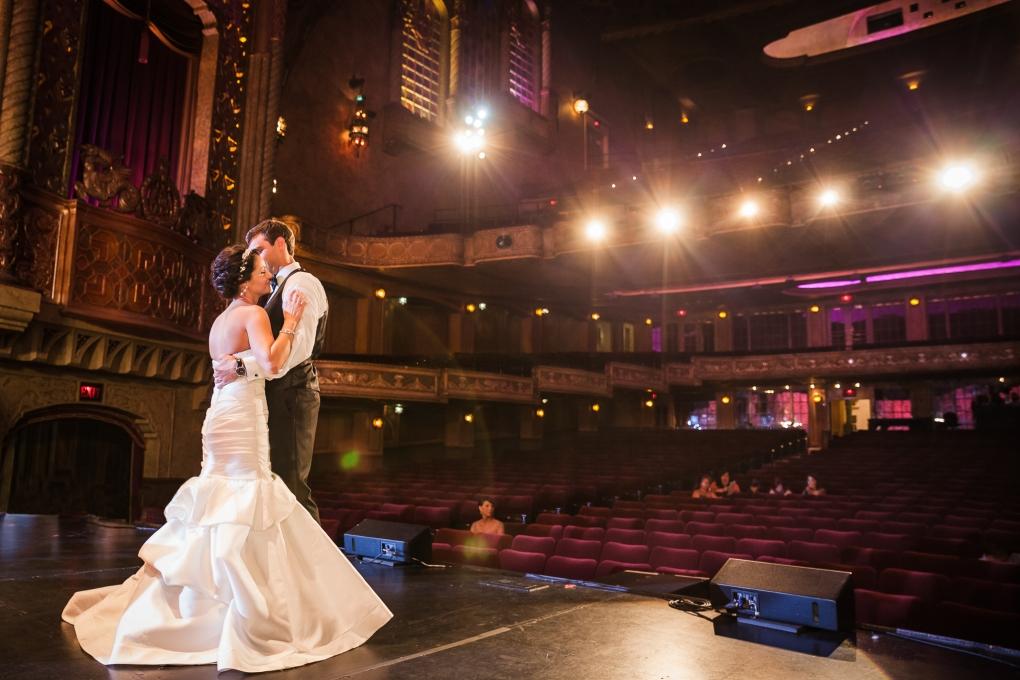 Alabama Theater Wedding by Alex Lucas