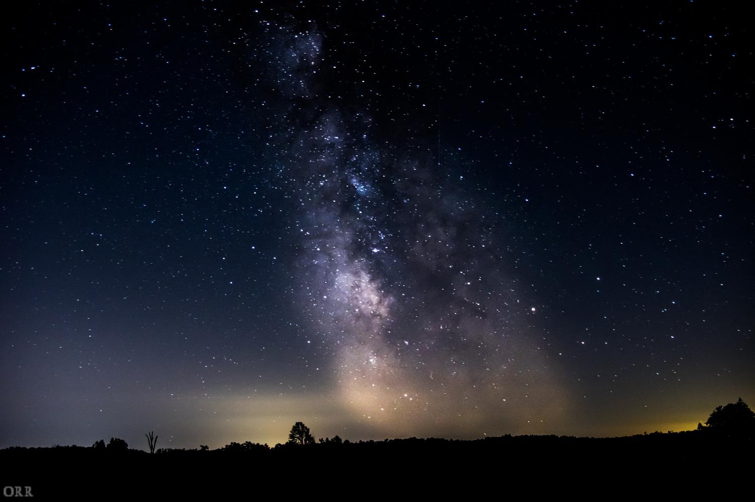 Milky way by Jason Orr
