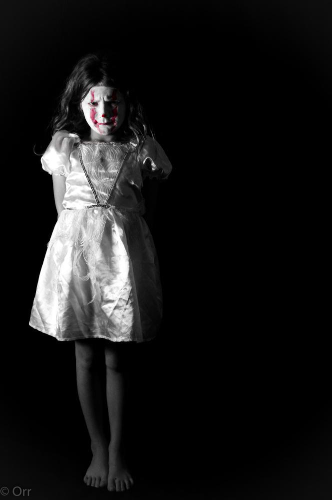 Creepy clown by Jason Orr