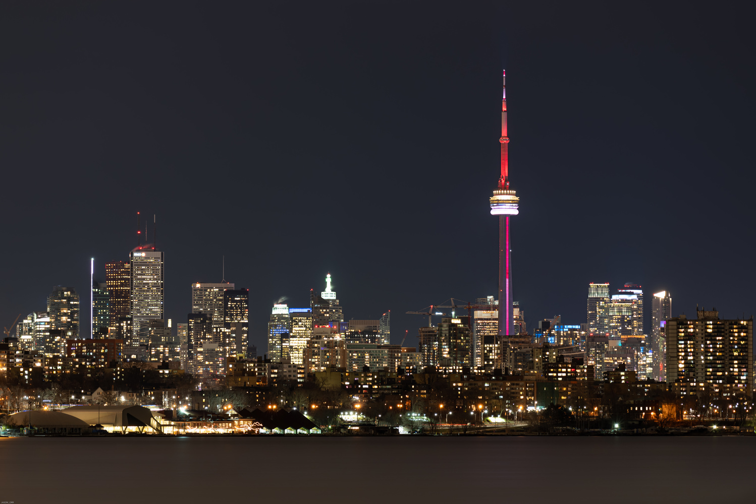 Toronto Skyline 2020 by Jason Orr