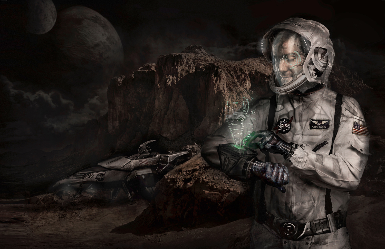 Space Traveler 2079 by Dan Francis