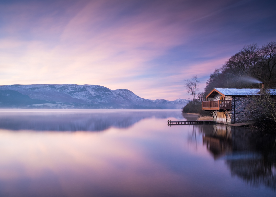 Sunrise on Ullswater by Chris Gouge